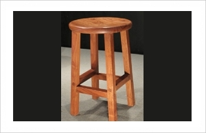 Teak Bar Stool, warrior wooden furniture